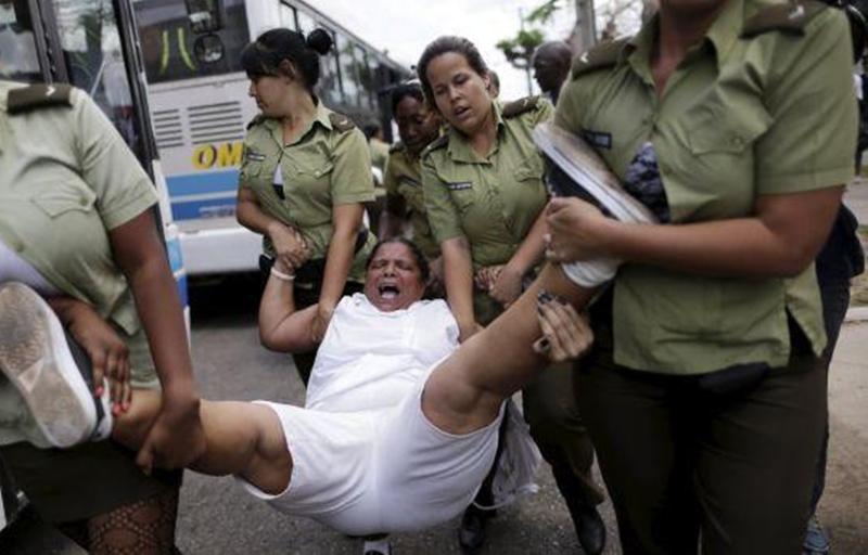 Resultado de imagen para detenciones arbitrarias en cuba