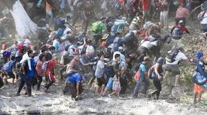 Resultado de imagen para Migrantes hondureños