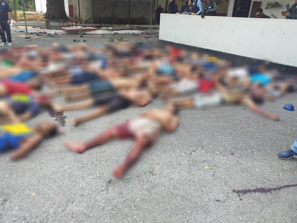 Nueva masacre en cárcel venezolana: Más de 40 muertos y 50 heridos ...