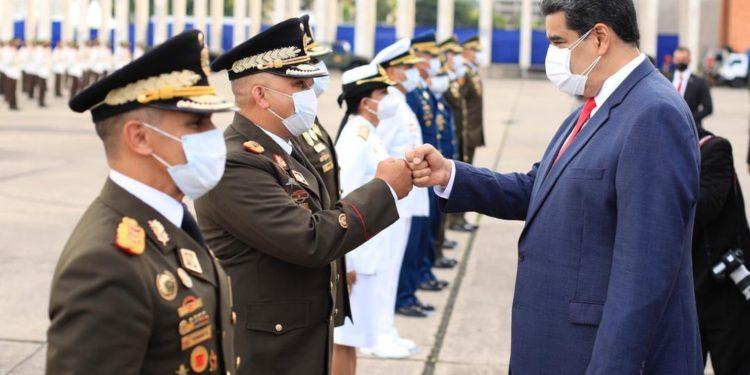 Maduro ascensos militares